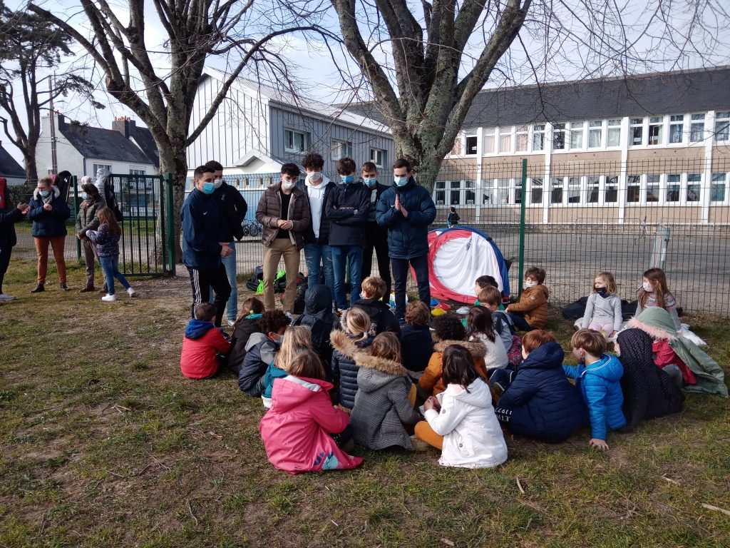 Foot à l école : La 1ère séance