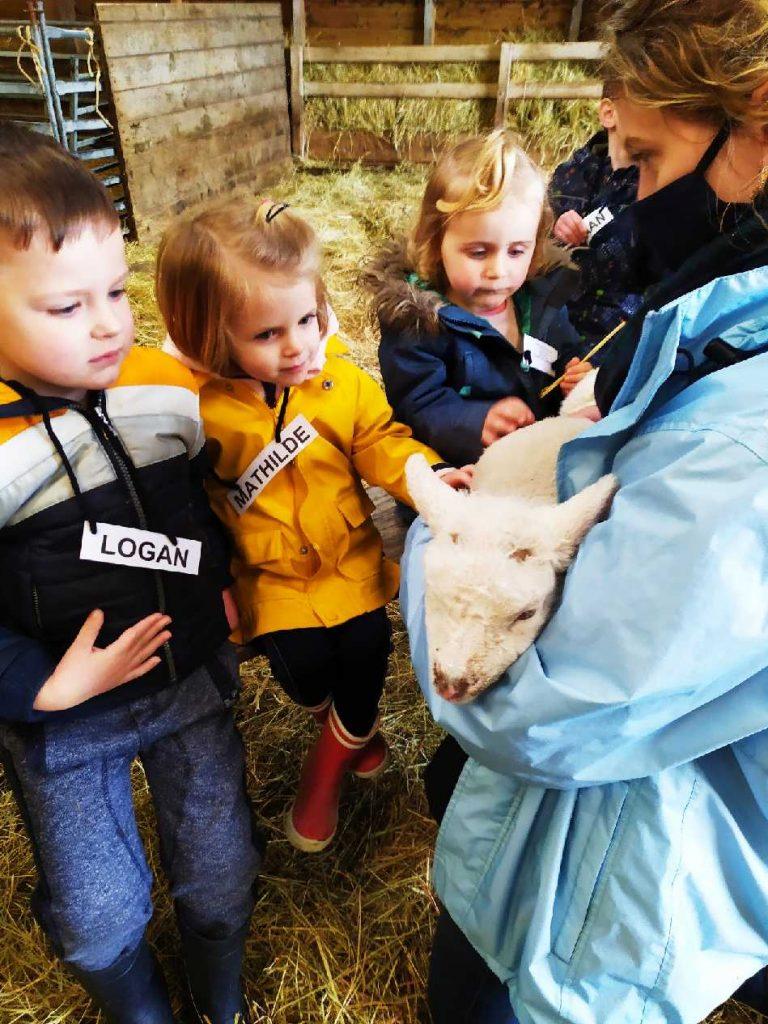 visite à la bergerie du Vincin