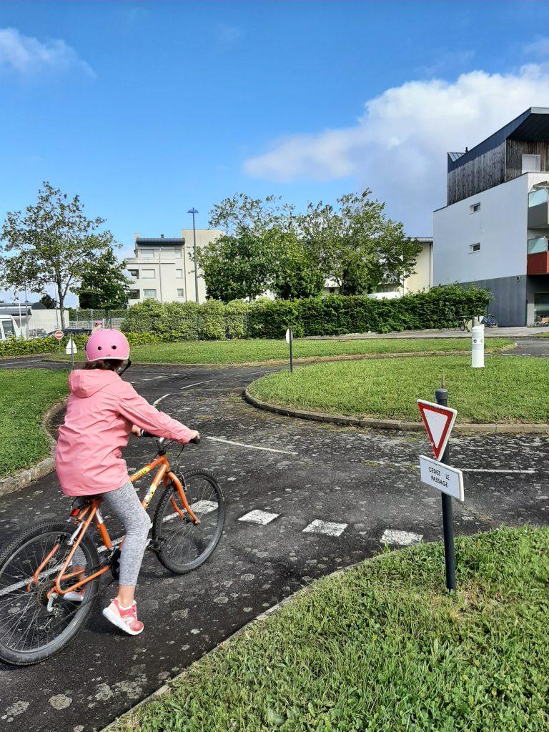 Piste vélo – Sécurité routière